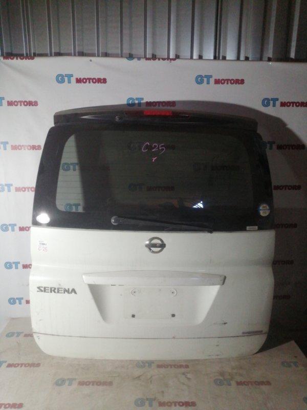 Дверь задняя багажника Nissan Serena C25 MR20