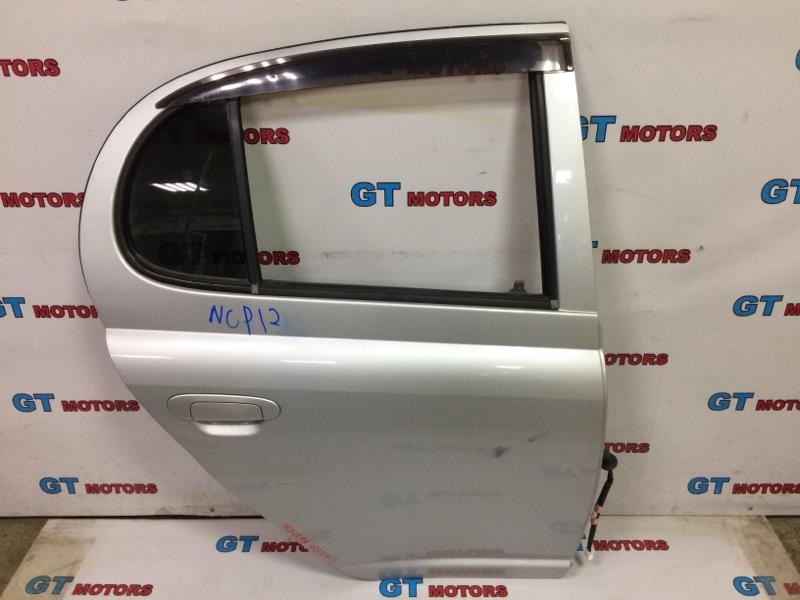 Дверь боковая Toyota Platz NCP12 1NZ-FE 2003 задняя правая