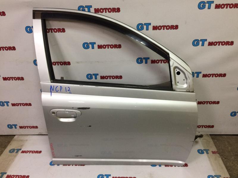 Дверь боковая Toyota Platz NCP12 1NZ-FE 2003 передняя правая