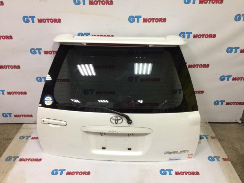 Дверь задняя багажника Toyota Raum EXZ10 5E-FE 1998 задняя