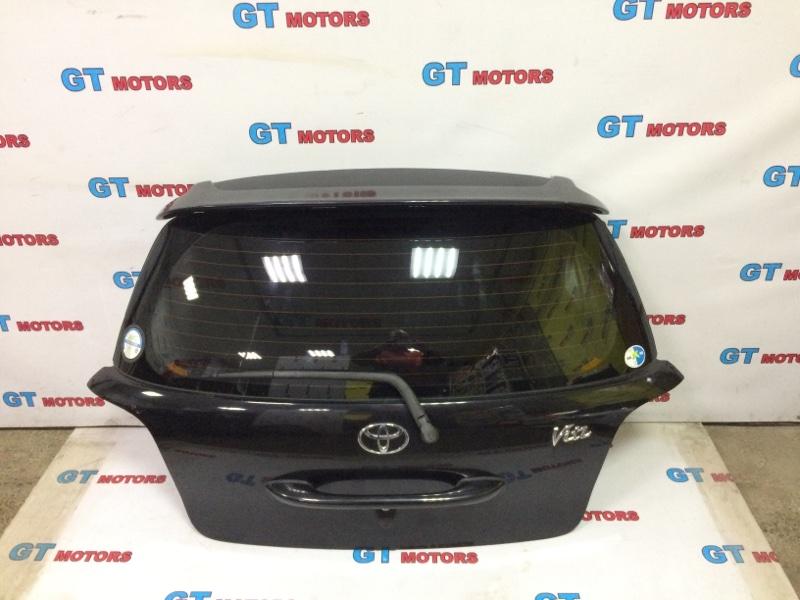 Дверь задняя багажника Toyota Vitz NCP10 2NZ-FE 2000 задняя