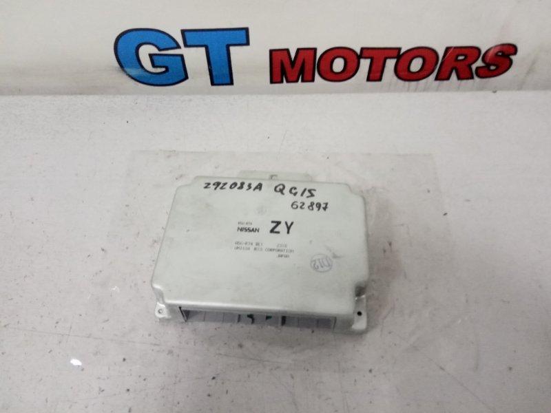 Компьютер (блок управления) Nissan Sunny FB15 QG15DE 2000