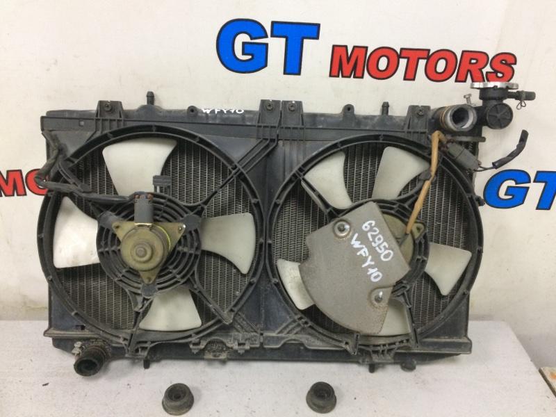 Радиатор двигателя Nissan Wingroad WFY10 GA15DE 1996