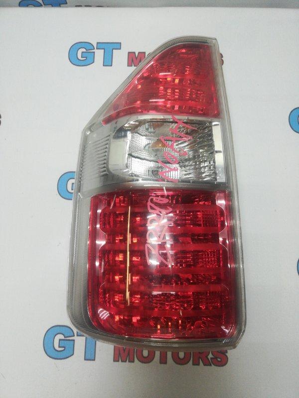 Фонарь (стоп-сигнал) Toyota Noah ZRR70W 3ZR-FE 2008 задний левый