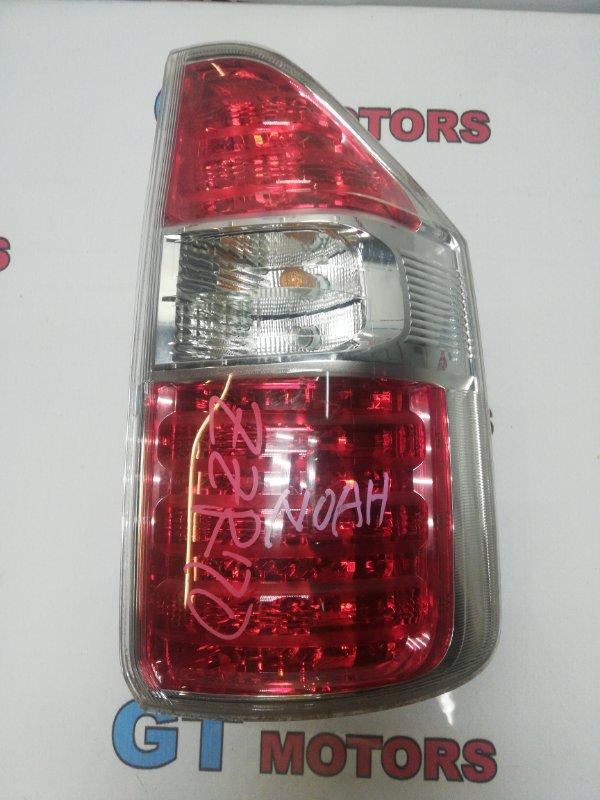 Фонарь (стоп-сигнал) Toyota Noah ZRR70W 3ZR-FE 2008 задний правый