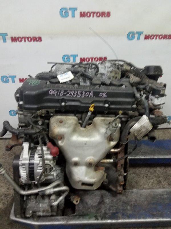Двигатель Nissan Bluebird Sylphy QG10 QG18DE 2003