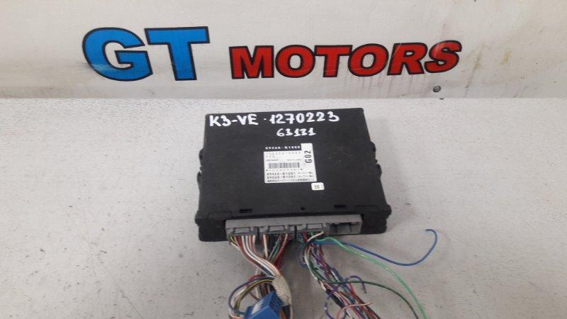 Компьютер (блок управления) Toyota Passo QNC10 K3-VE
