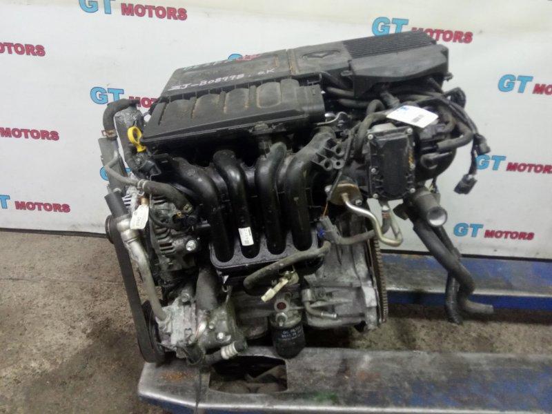 Двигатель Mazda Demio DE3FS ZJ-VE 2009