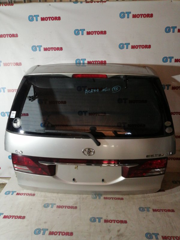 Дверь задняя багажника Toyota Estima ACR40 2AZ-FE