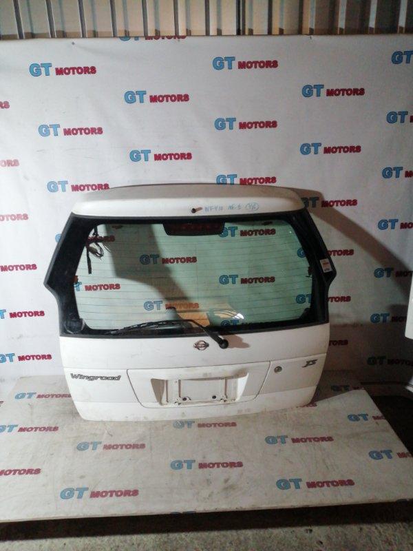 Дверь задняя багажника Nissan Wingroad WFY10 GA15DE