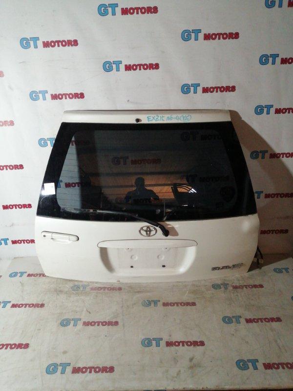 Дверь задняя багажника Toyota Raum EXZ15 5E-FE 2001