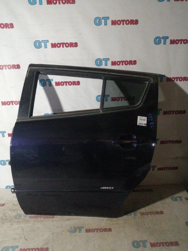 Дверь боковая Toyota Will Vs ZZE129 1ZZ-FE 2001 задняя левая