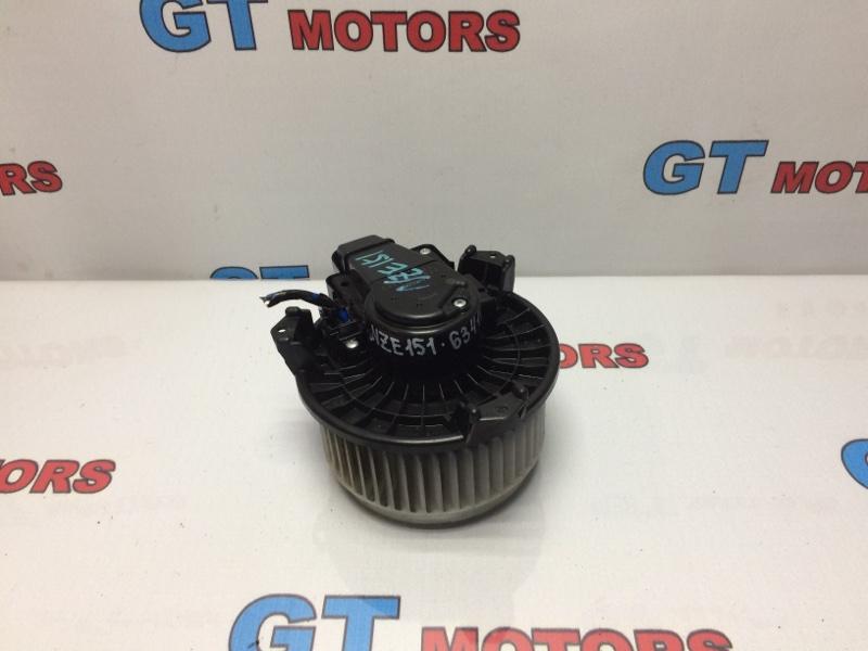 Вентилятор (мотор отопителя) Toyota Auris NZE151 1NZ-FE