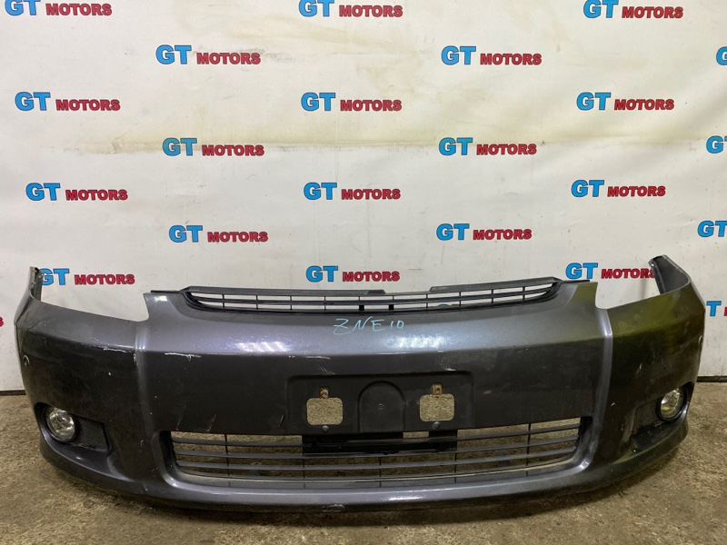 Бампер Toyota Wish ZNE10G 1ZZ-FE передний