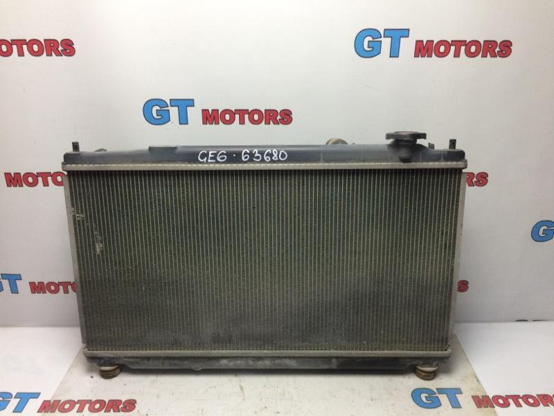 Радиатор двигателя Honda Fit GE6 L13A 2010