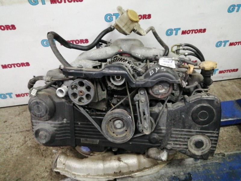 Двигатель Subaru Legacy BP5 EJ20 2005