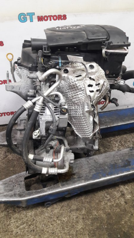 Двигатель Toyota Vitz KSP90 1KR-FE 2008