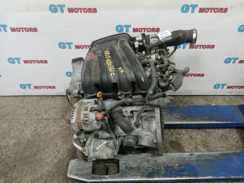 Двигатель Nissan Ad VY12 HR15DE 2010