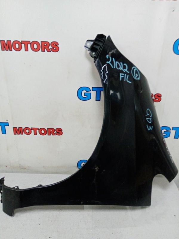 Крыло Honda Fit GD3 L15A переднее левое