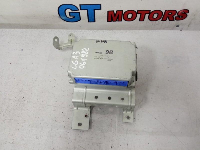 Компьютер (блок управления) Nissan Cube AZ10 CGA3DE 2000