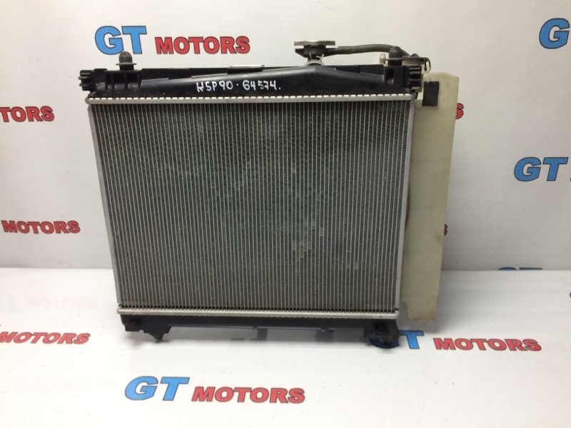 Радиатор двигателя Toyota Vitz KSP90 1KR-FE 2008
