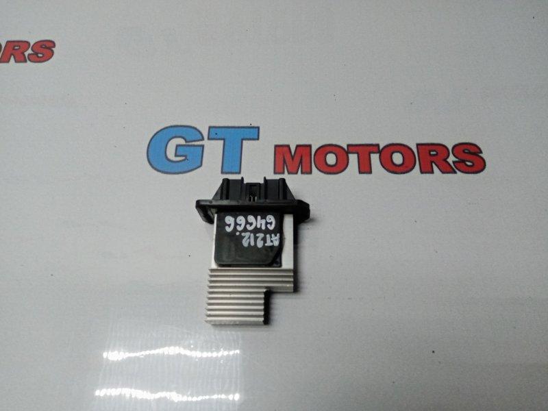 Реостат печки Toyota Carina AT212 5A-FE 2001