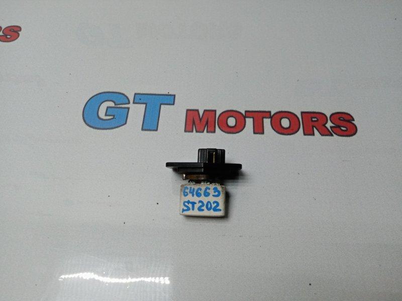 Реостат печки Toyota Carina Ed ST202 3S-GE 1994