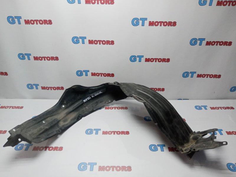 Подкрылок Toyota Ractis NCP120 1NZ-FE 2012 передний левый