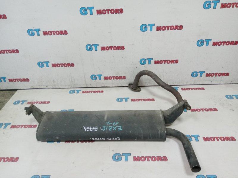 Глушитель Toyota Raum EXZ15 5E-FE 2001