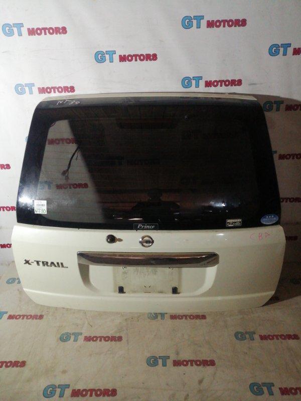 Дверь задняя багажника Nissan X-Trail NT30 QR20DE 2005