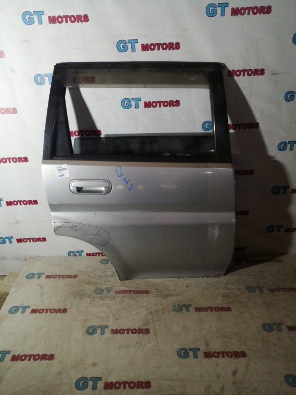Дверь боковая Honda Hr-V GH3 D16A задняя правая