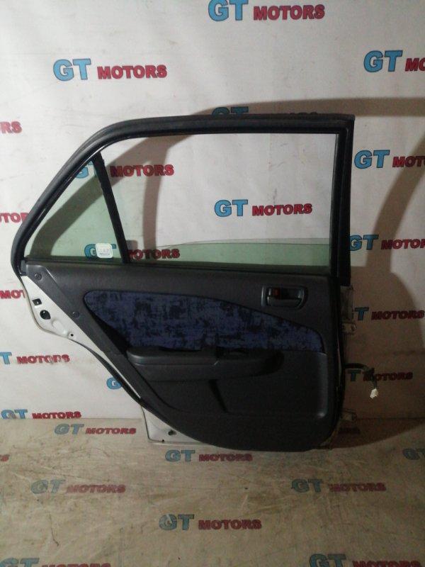 Дверь боковая Toyota Corona Premio AT211 7A-FE задняя левая