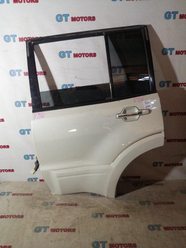 Дверь боковая Mitsubishi Pajero V73W 6G72 задняя левая
