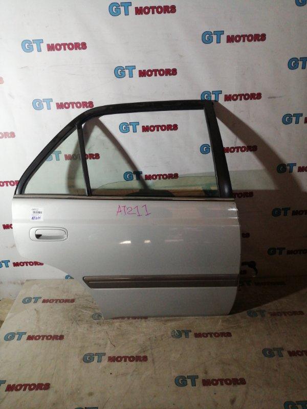 Дверь боковая Toyota Corona Premio AT211 7A-FE задняя правая