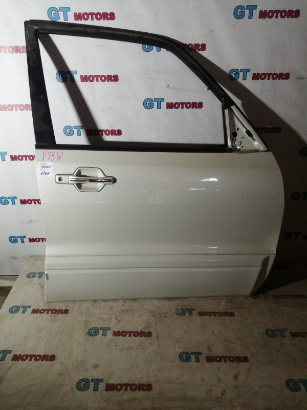 Дверь боковая Mitsubishi Pajero V73W 6G72 передняя правая