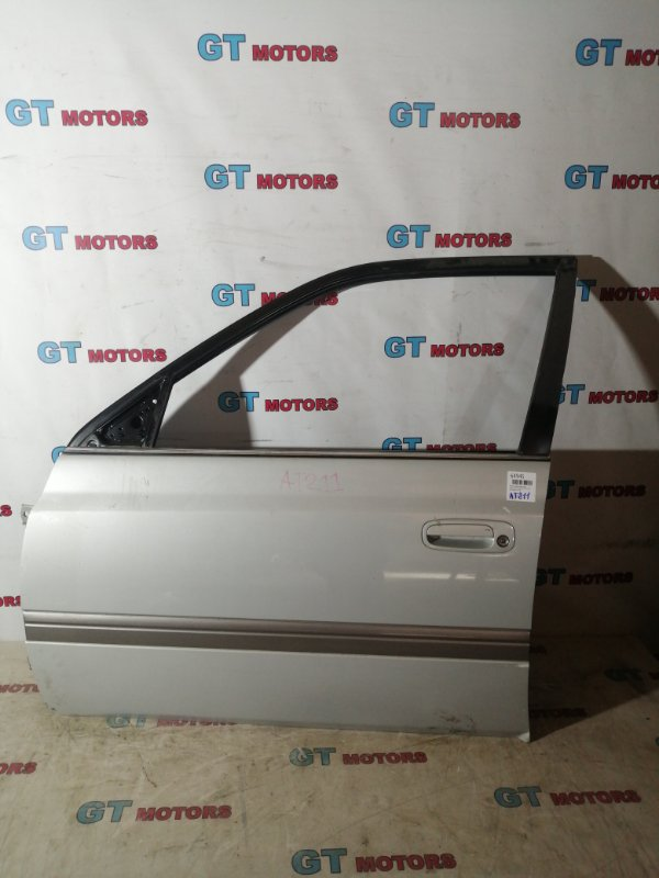 Дверь боковая Toyota Corona Premio AT211 7A-FE передняя левая