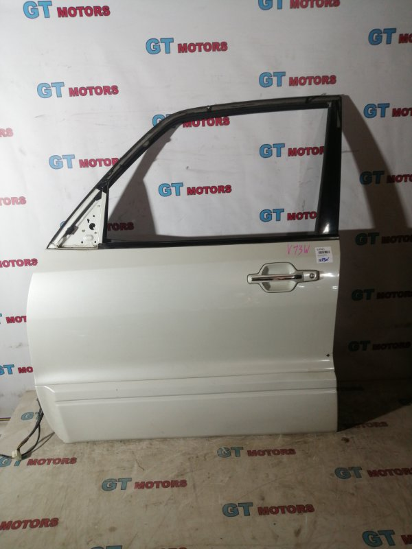 Дверь боковая Mitsubishi Pajero V73W 6G72 передняя левая