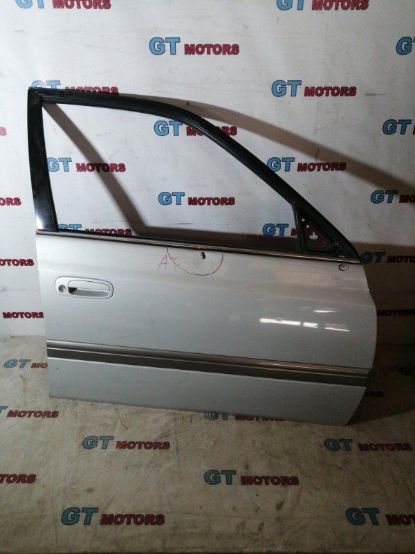Дверь боковая Toyota Corona Premio AT211 7A-FE передняя правая