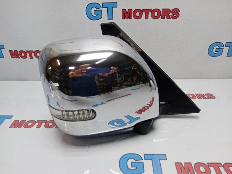 Зеркало боковое Mitsubishi Pajero V73W 6G72 2004 переднее правое
