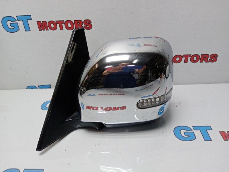 Зеркало боковое Mitsubishi Pajero V73W 6G72 2004 переднее левое