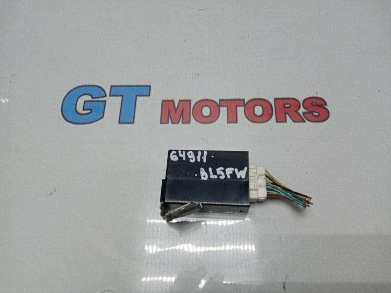 Блок управления освещением Mazda Axela BL5FW ZY-VE 2010