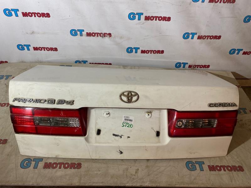 Крышка багажника Toyota Corona Premio ST210 3S-FSE