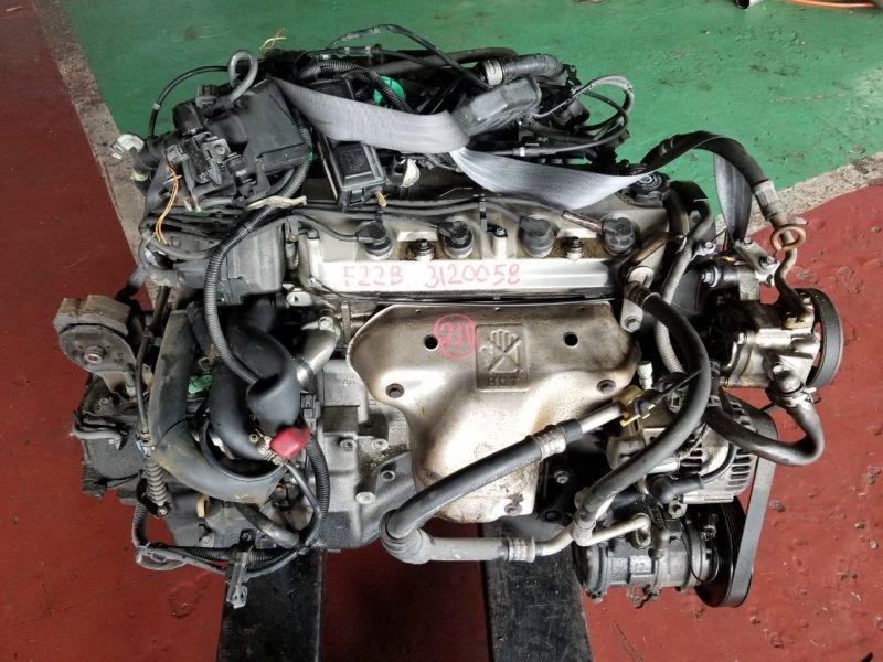 Двигатель Honda Accord Wagon CE1 F22B 1995