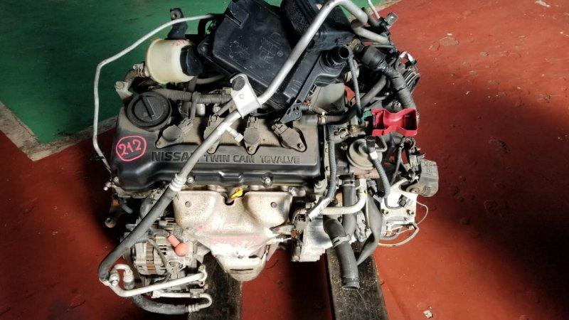 Двигатель Nissan Sunny FB15 QG15 1999