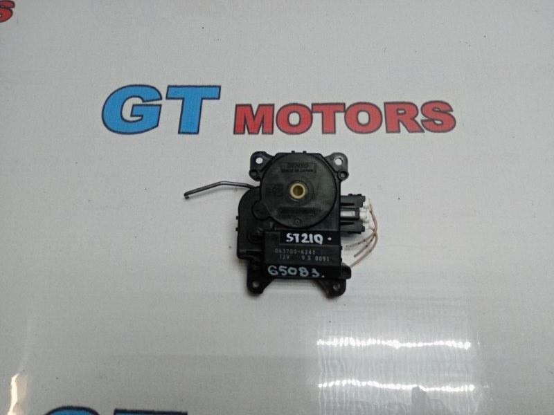 Привод заслонок отопителя Toyota Caldina ST210G 3S-FE 1997