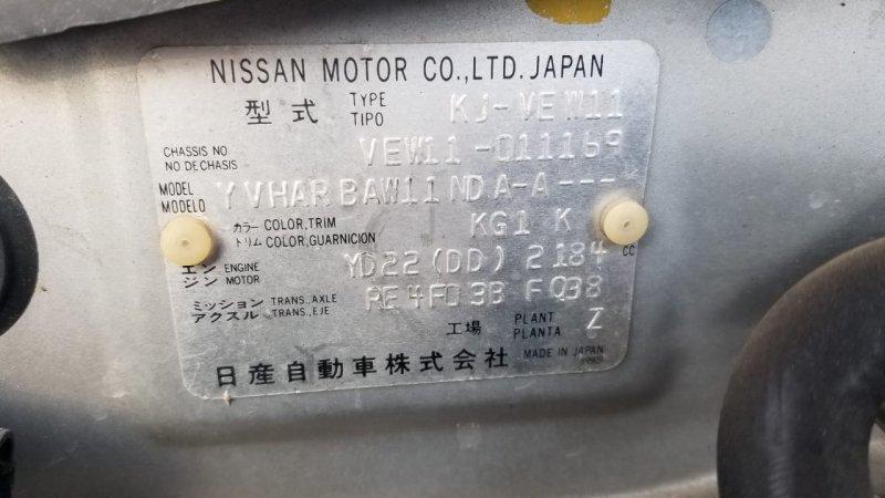 Акпп Nissan Expert VEW11 YD22DD 2000