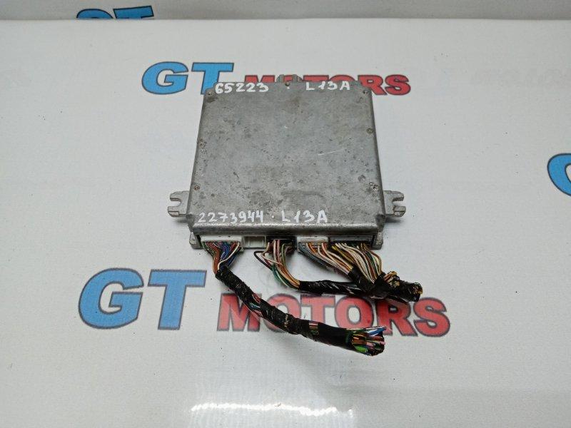 Компьютер (блок управления) Honda Fit GD1 L13A 2003