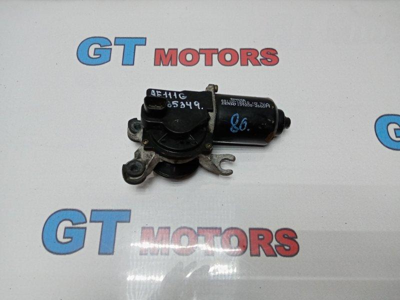 Привод дворников Toyota Sprinter Carib AE111G 4A-FE 1997 передний