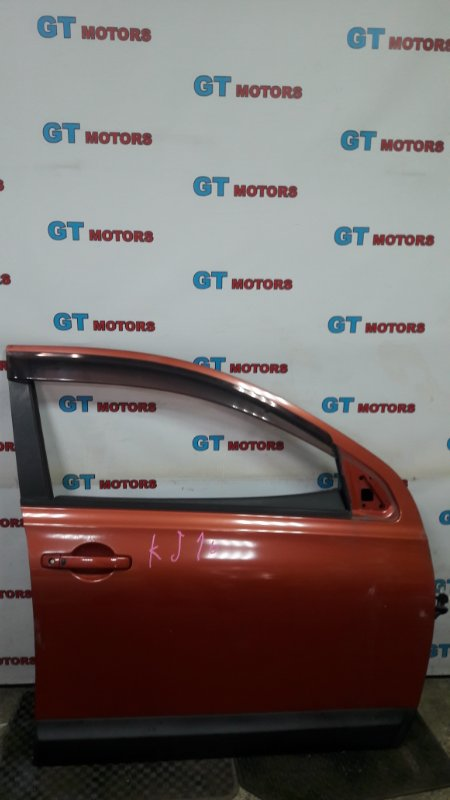Дверь боковая Nissan Dualis KJ10 MR20DE 2010 передняя правая