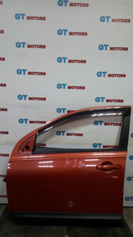 Дверь боковая Nissan Dualis KJ10 MR20DE 2010 передняя левая